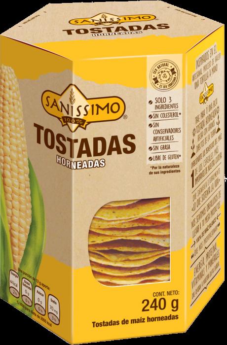 Tostadas maíz