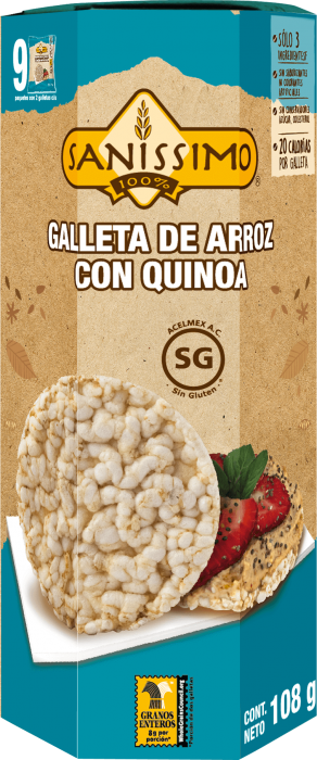 Galleta de Arroz con Quinoa