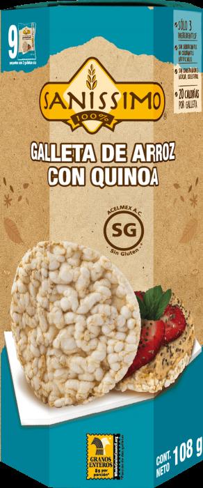 Galleta de Arroz con Quinoa