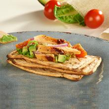 Salmas with Grilled Chicken Breast