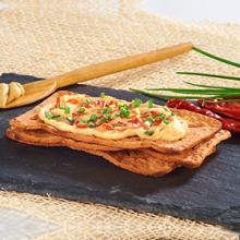 Salmas Chipotle with Hummus and Chives