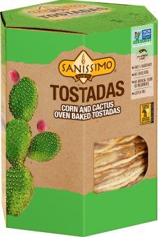 Corn and Cactus Tostadas
